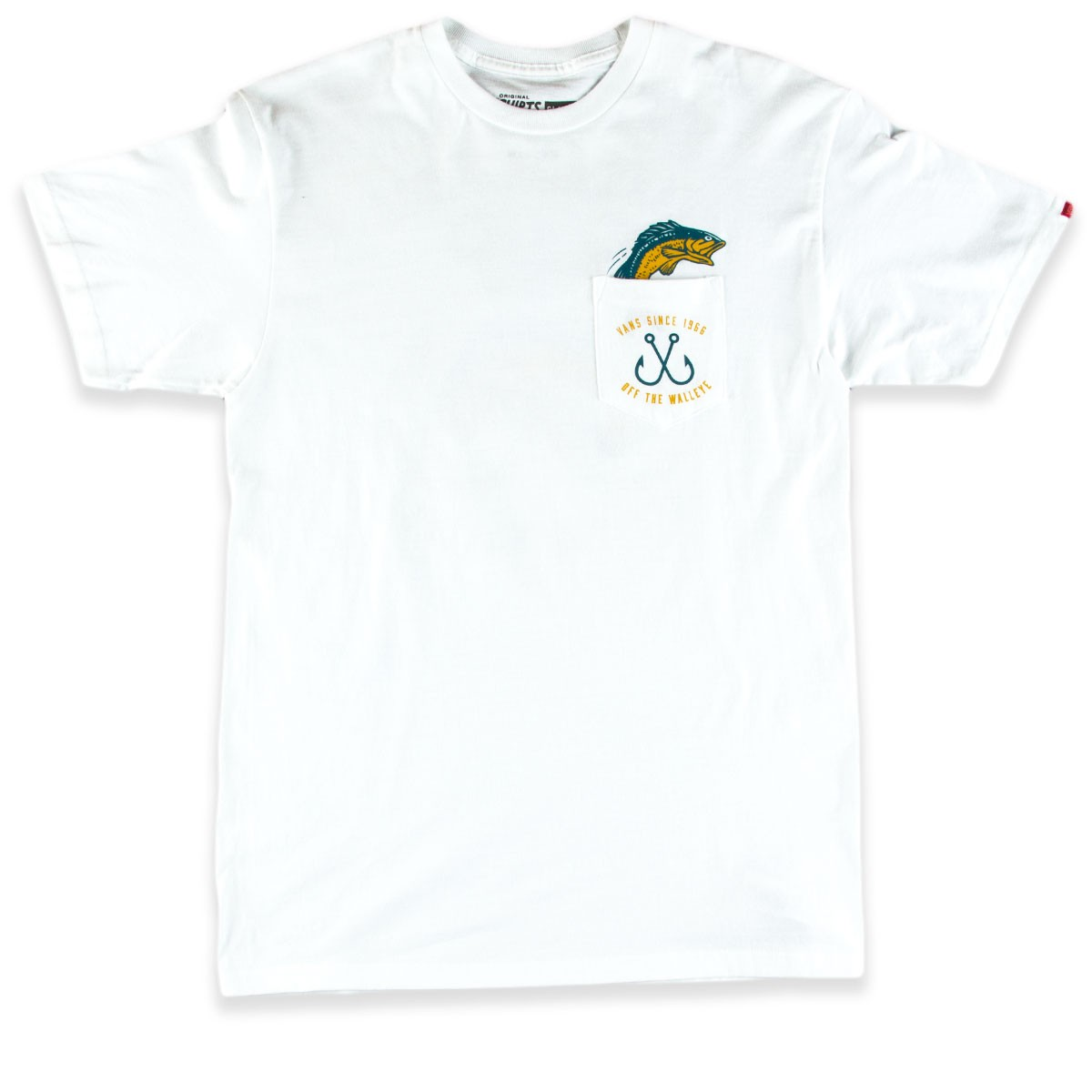 Vans Off The Walleye T Shirt White