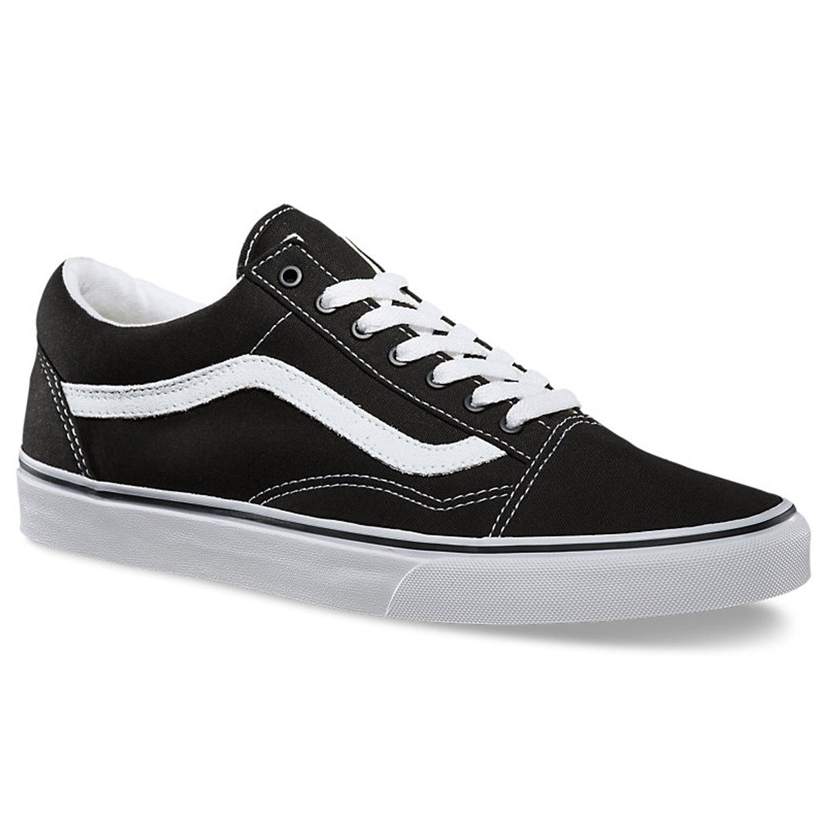 f95ef9871cce Vans Old Skool Shoes - Black White - 8.0