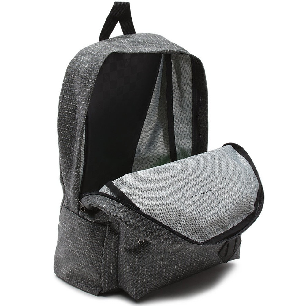 vans old skool backpack grey