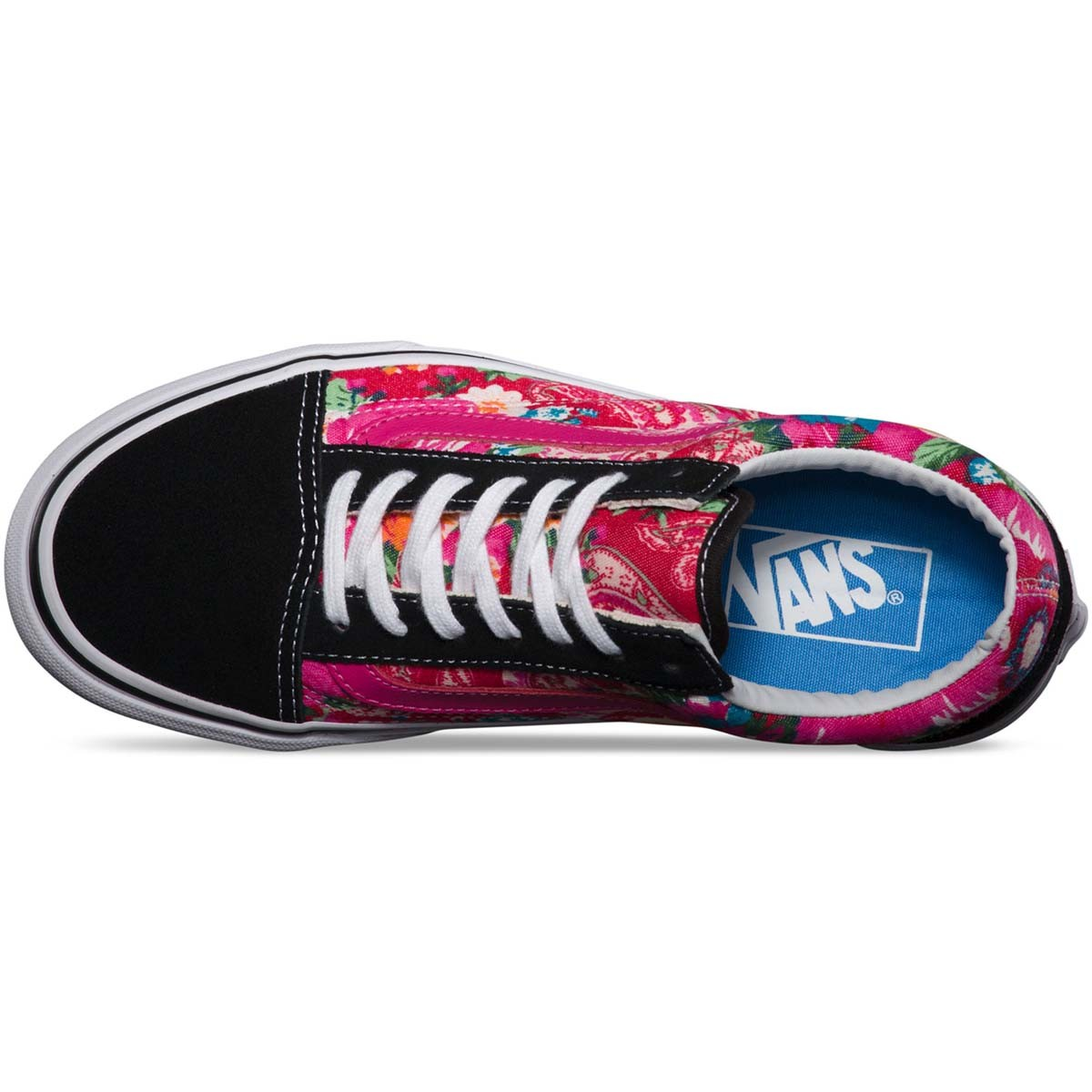 Vans multi floral old skool core classics shoes for Old skool house classics list