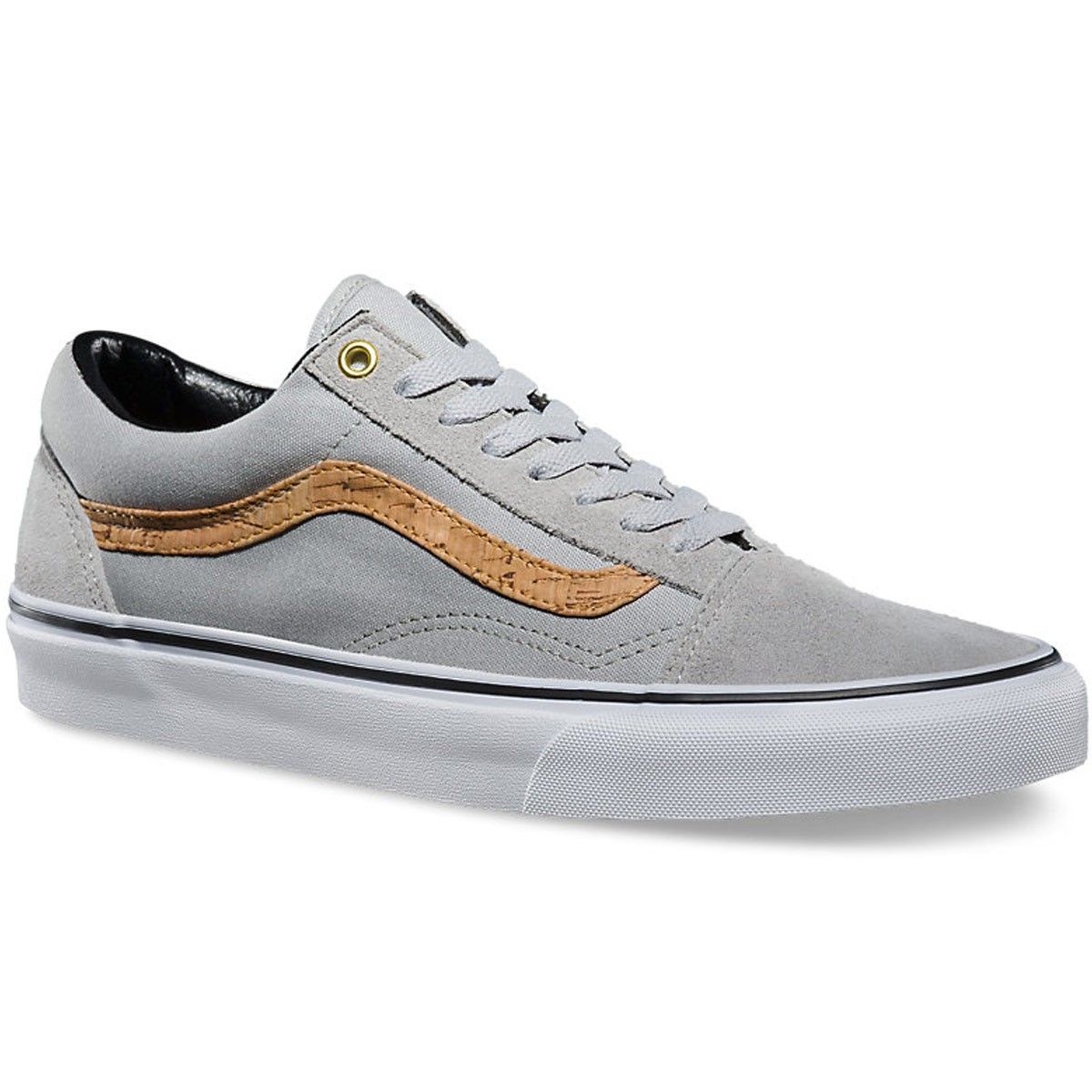 Vans Old Skool Side Stripe Shoes - Highrise Cork - 10.0 ea67cc235fc3