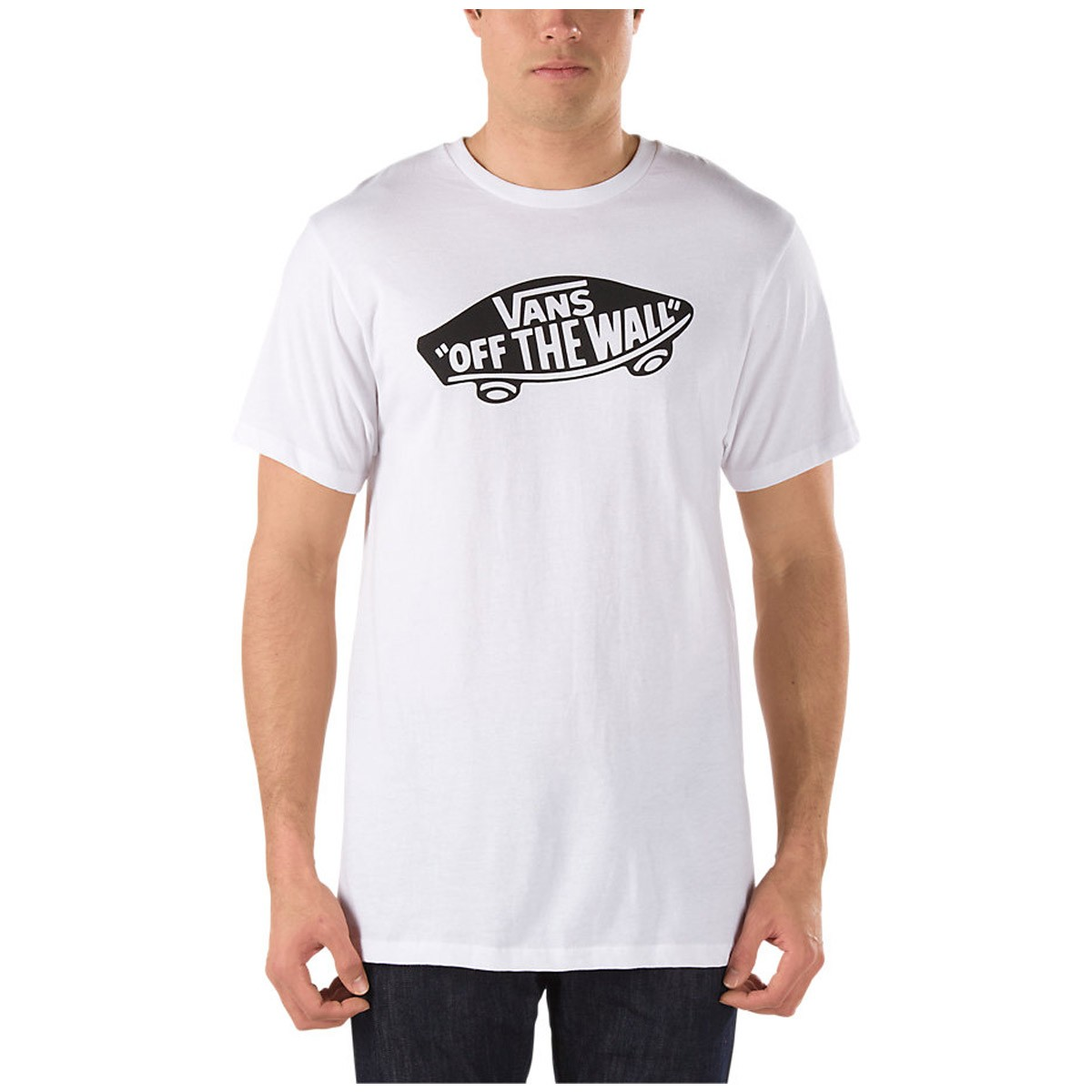 vans otw t shirt white black. Black Bedroom Furniture Sets. Home Design Ideas