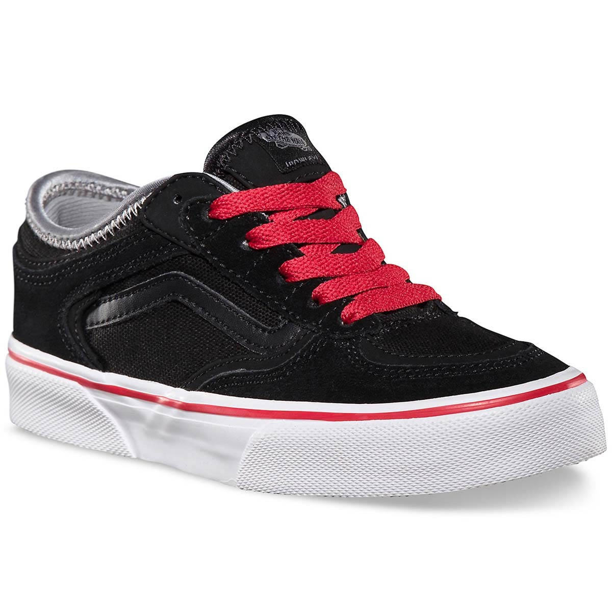b3bcd9c65e Vans Geoff Rowley Pro Big Kid Shoes - Black Black Red