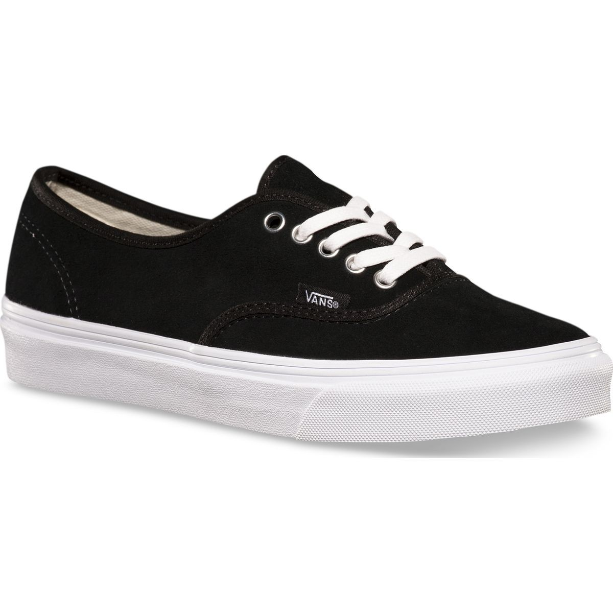 afff583fcdd6 Vans Authentic Slim Shoes - Black Suede - 6.0
