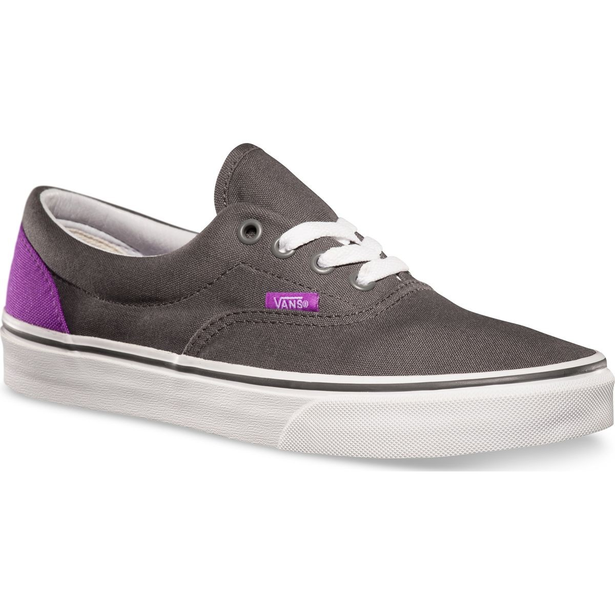 c2ca927815f4 Vans ERA Heel Pop Shoes - Pewter Neon Purple - 4.5
