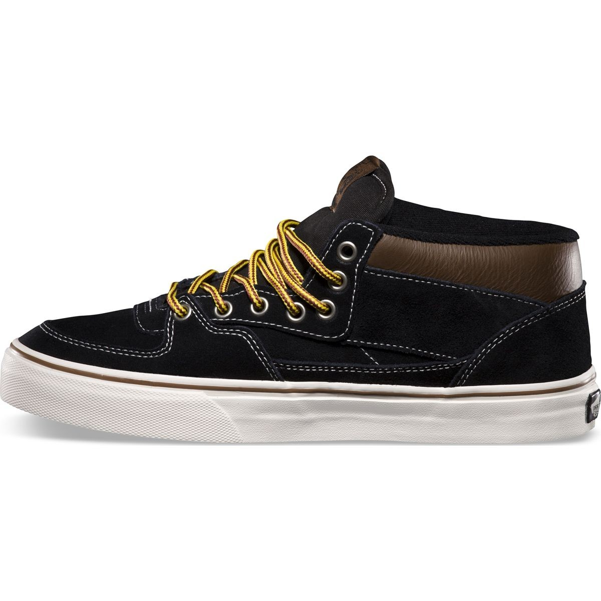 66a9e114d4e07b Vans Hiker Half Cab Shoes - Suede Black - 8.0