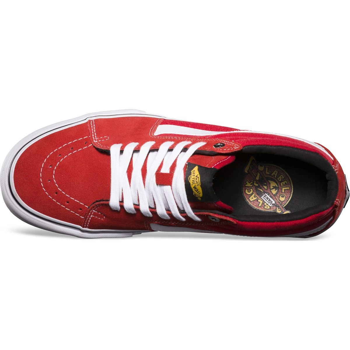 f668032b61 Vans Black Label Sk8-Mid Pro Shoes - Red - 8.0