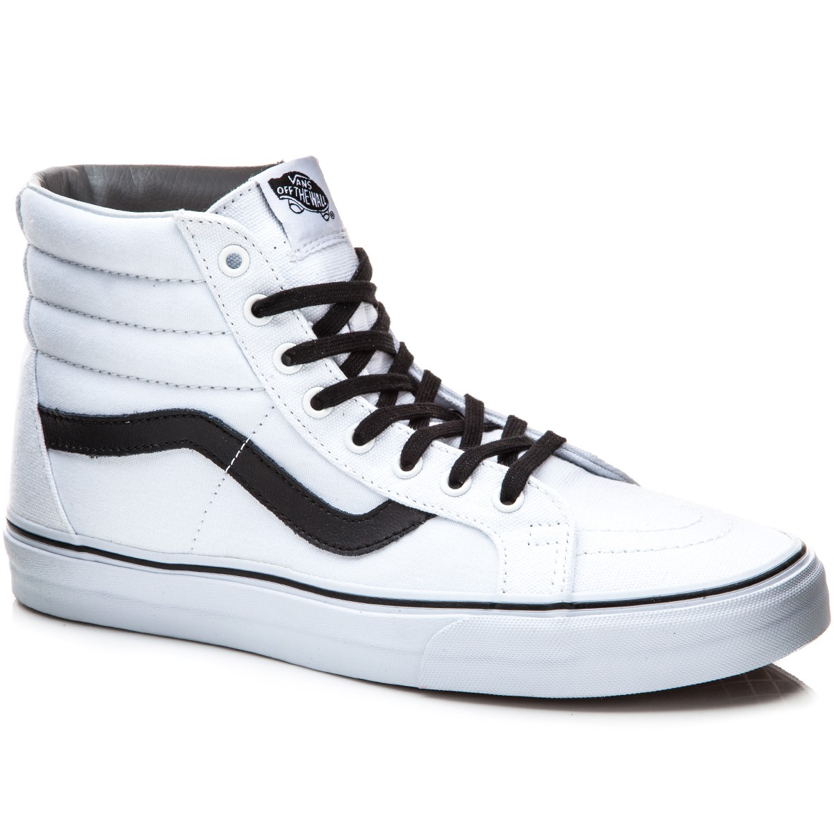 vans sk8 hi shoes black