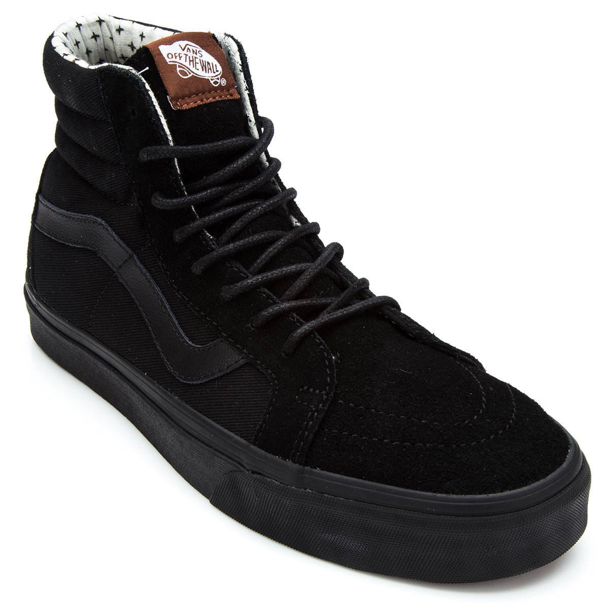 c2b2f0d853 Vans SK8-HI Reissue T S Shoes - Black Plus - 6.0