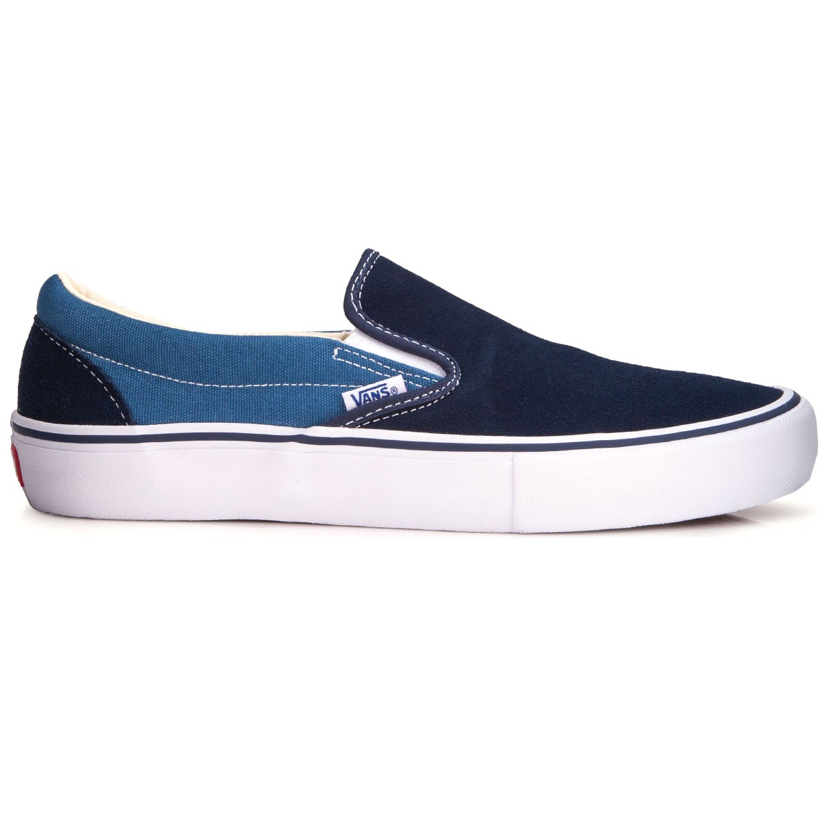 Navy Slip On Shoes