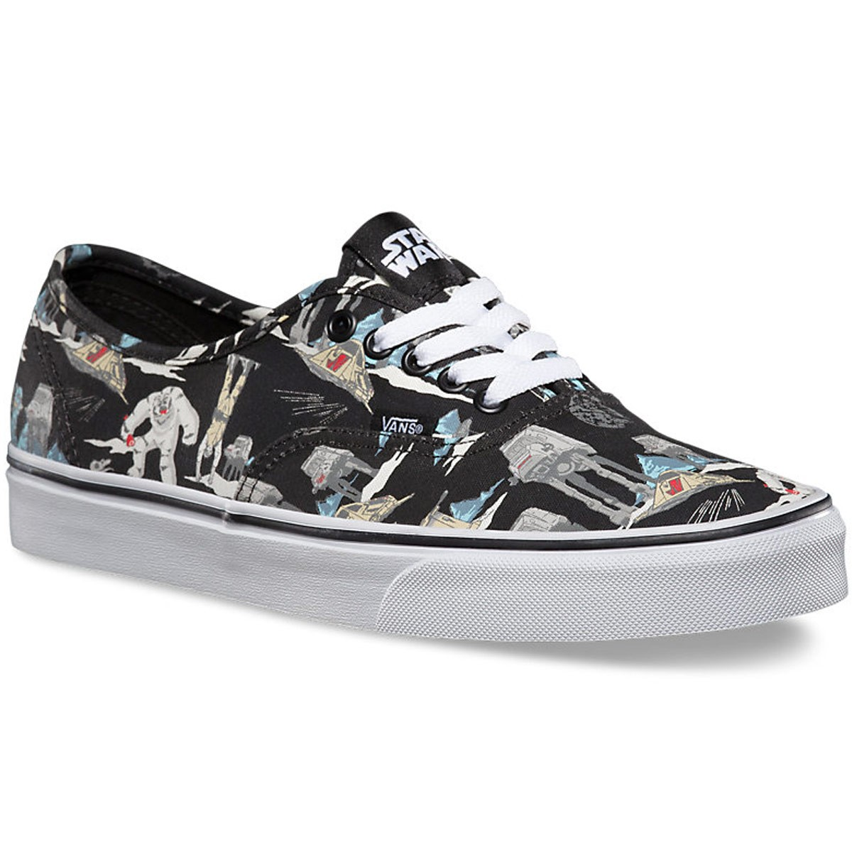 b098d65aef Vans Star Wars Authentic Shoes - Dark Side Planet Hoth - 7.0