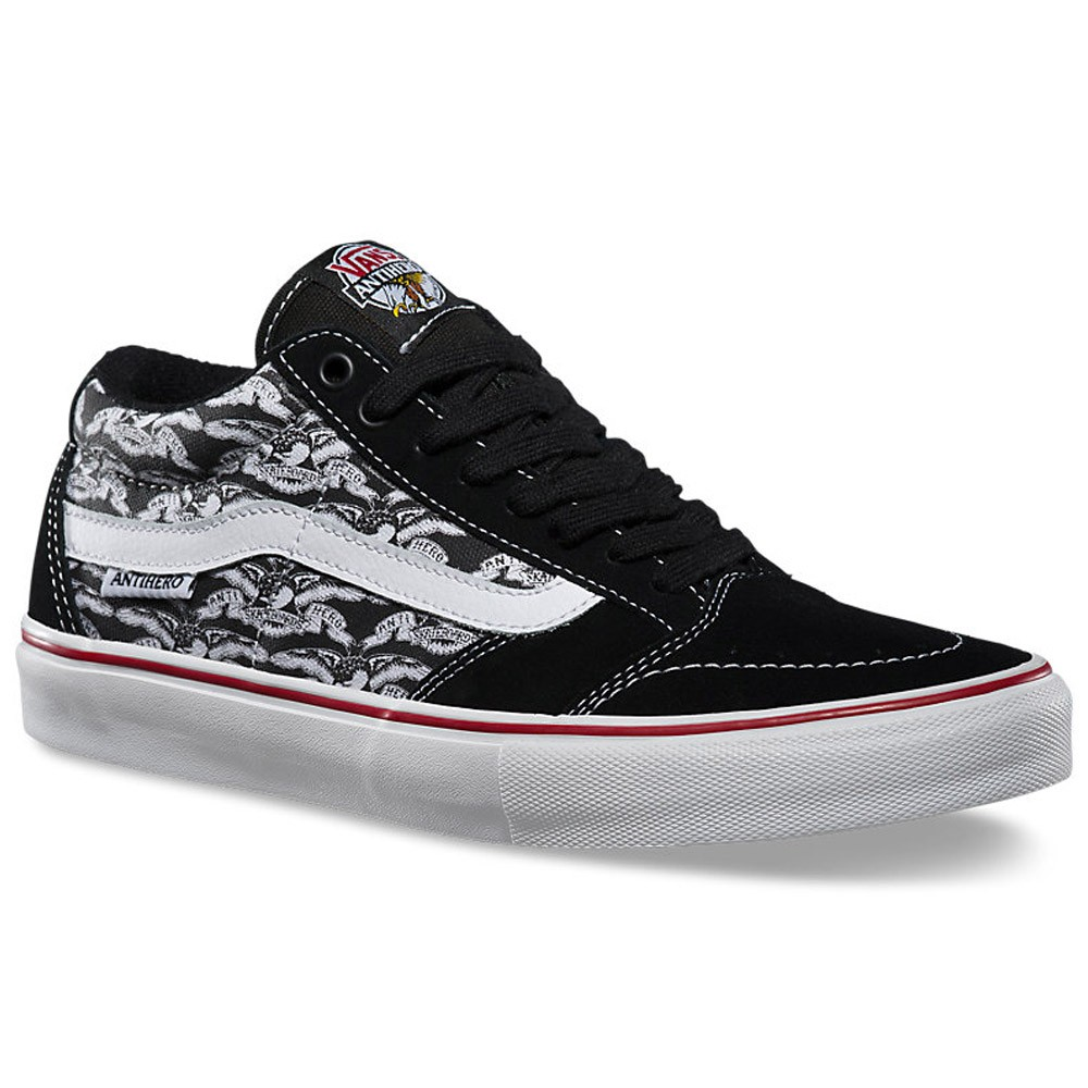 c4f4bf8c34 Vans x Anti-Hero TNT SG Shoes - Black Trujillo - 9.0