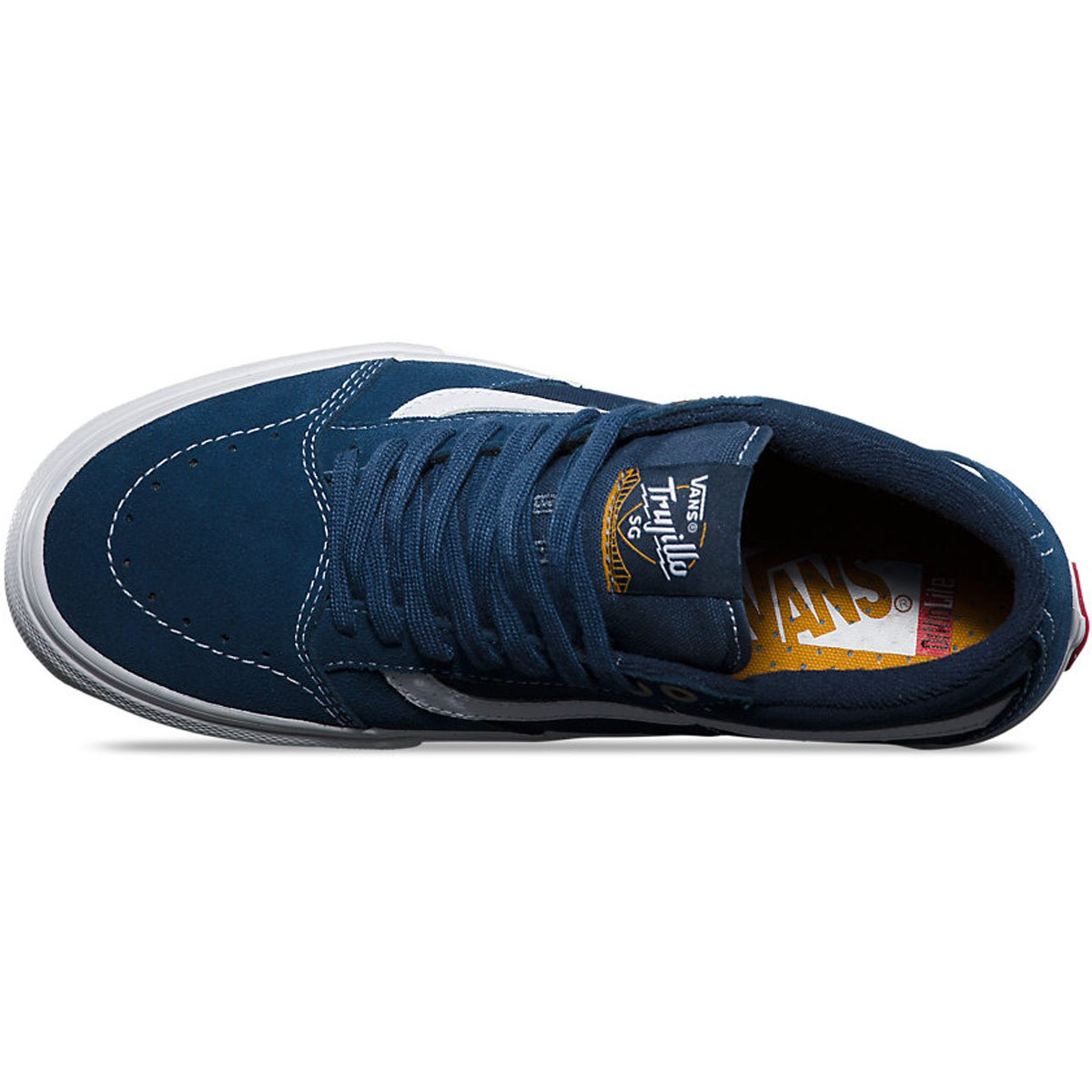 beb98f1ff0 Vans TNT SG Washed Canvas Shoes - Navy White - 8.0