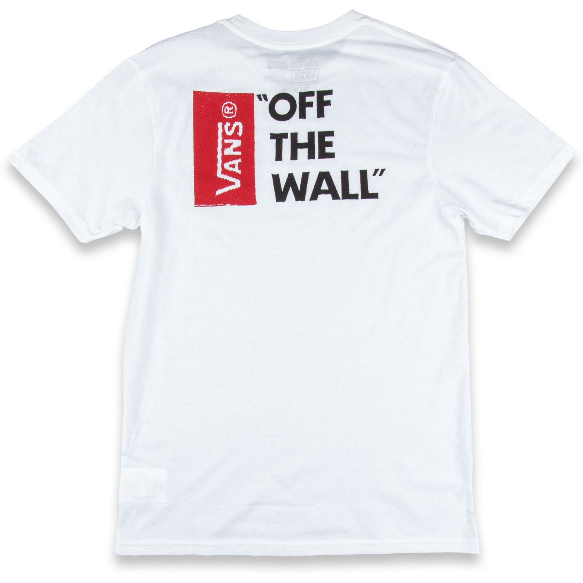 Off the wall ii t shirt white vans off the wall ii t shirt white amipublicfo Choice Image