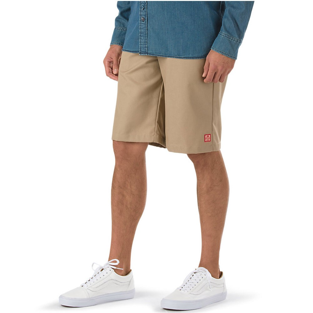 X Red Kap Work Shorts - Khaki
