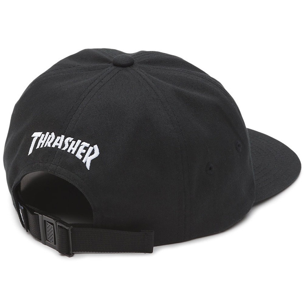 99c776afaf7 Vans X Thrasher Jockey Hat - Black