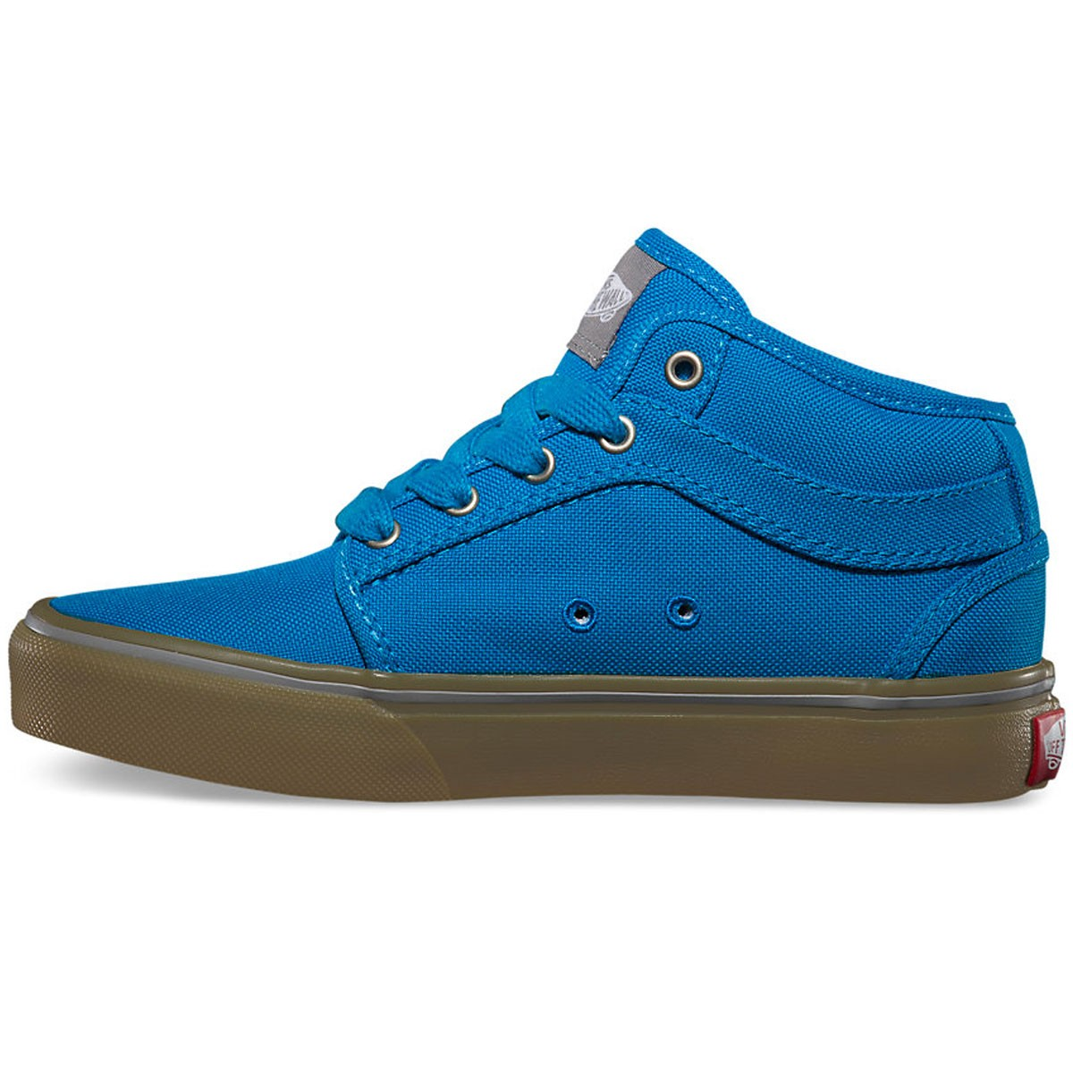 Vans Youth Chukka Midtop Shoes Bright Blue Gum