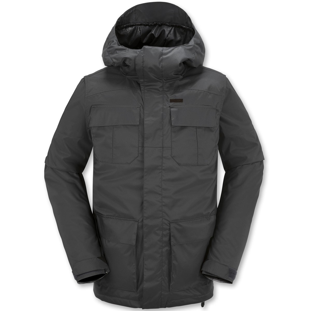 Volcom Alternate Insulated Snowboard Jacket - Charcoal