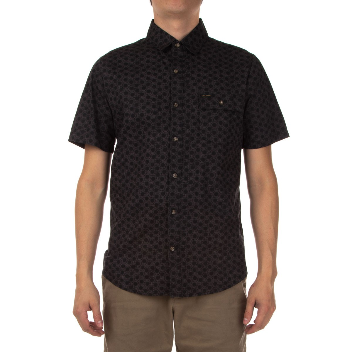 Volcom Banks Short Sleeve Shirt - Black