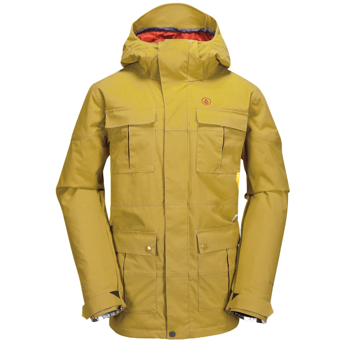 Volcom Captain Insulated Jacket 2015 Mustard