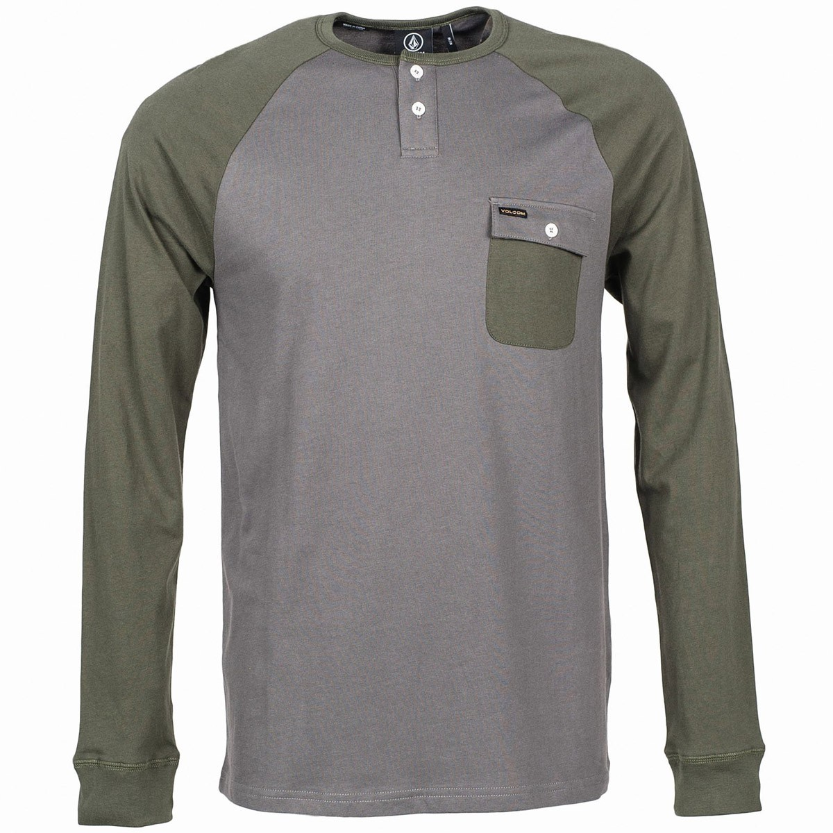 Hardin Long Sleeve T-Shirt - Dark Grey