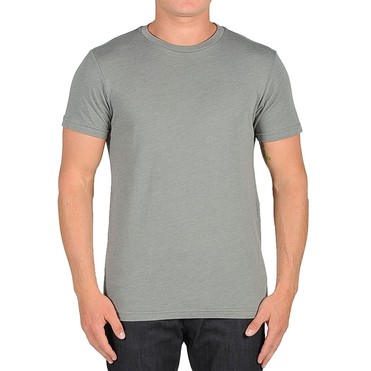 Volcom Heather Solid T Shirt Slate Grey Heather