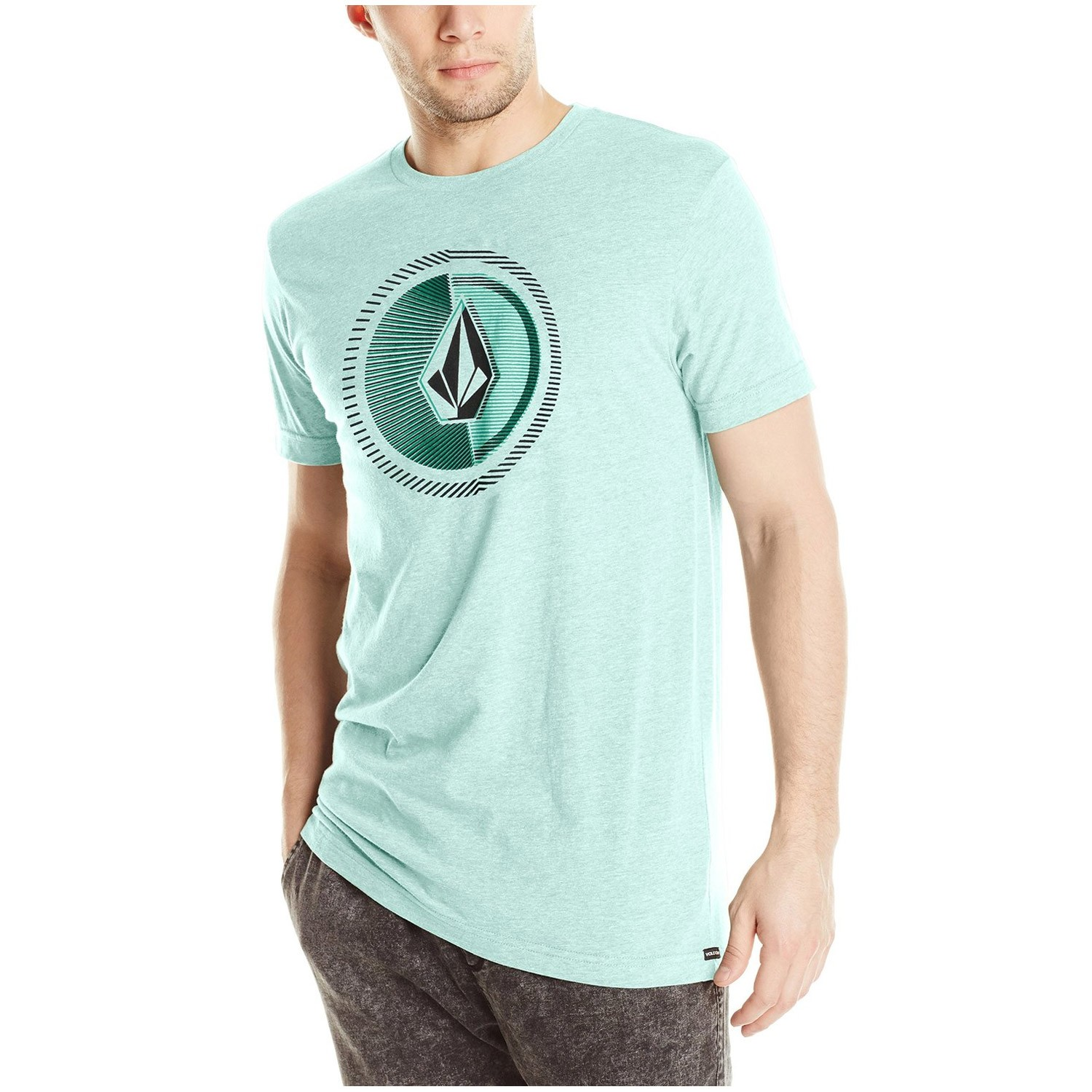 Volcom Overload Short Sleeve T-Shirt - Arctic Blue Heather