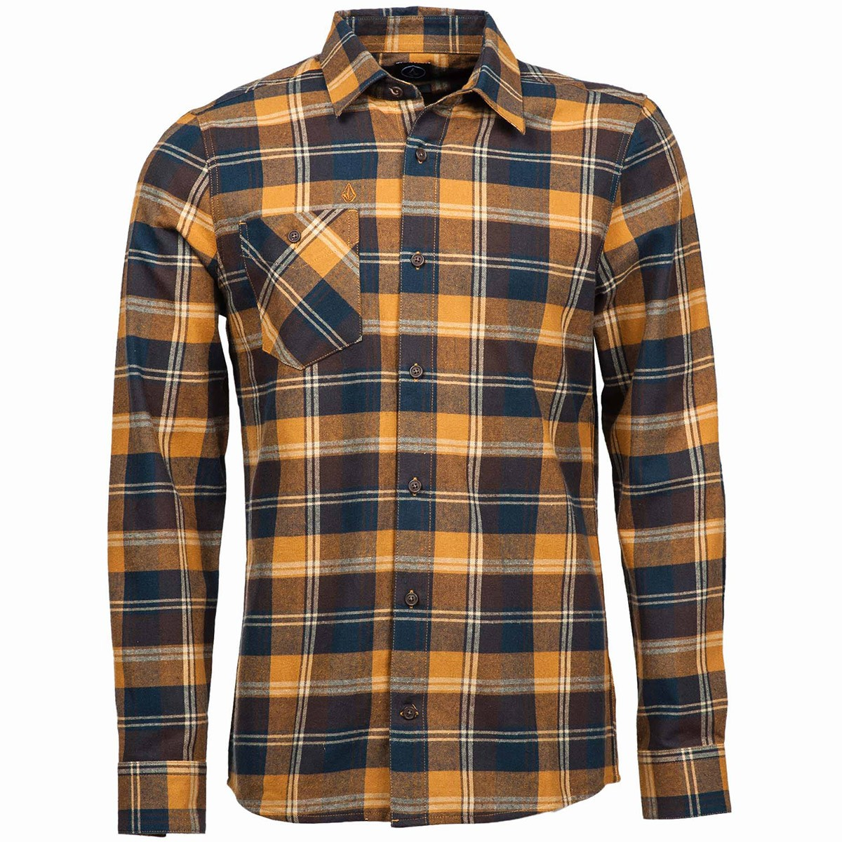 Volcom Pablo Long Sleeve Shirt - Rust
