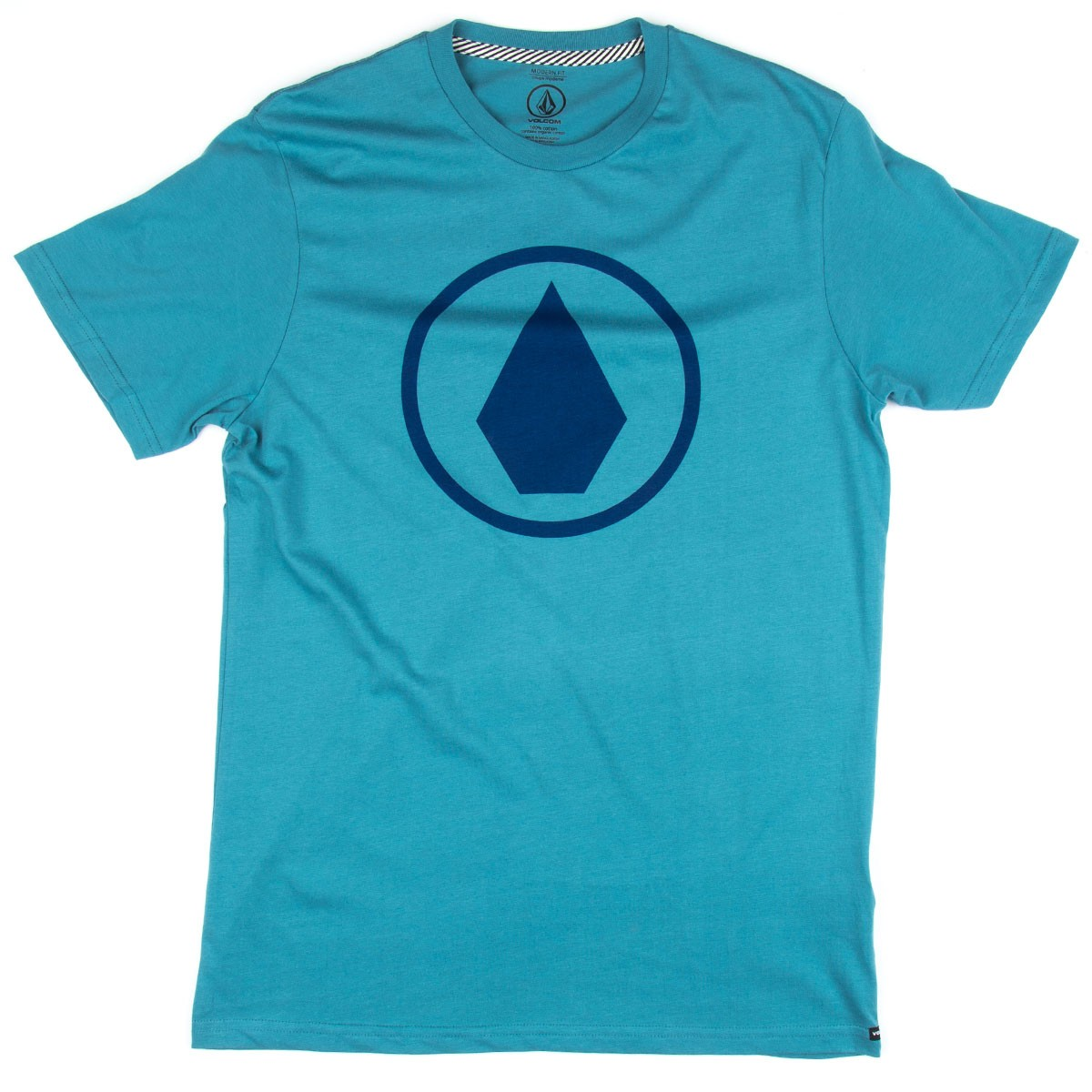 Volcom Solid Stone T-Shirt - Stormy Blue