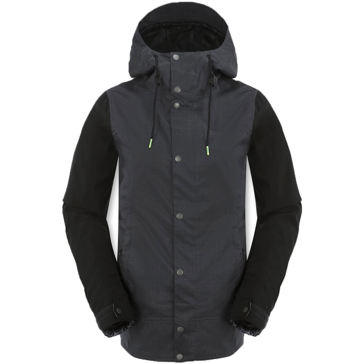 Volcom Stave Womens Snowboard Jacket - Charcoal