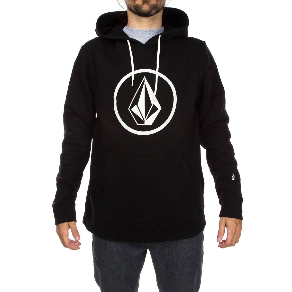 pretty nice new arrive classic shoes Volcom Stone Pullover Hoodie - Black