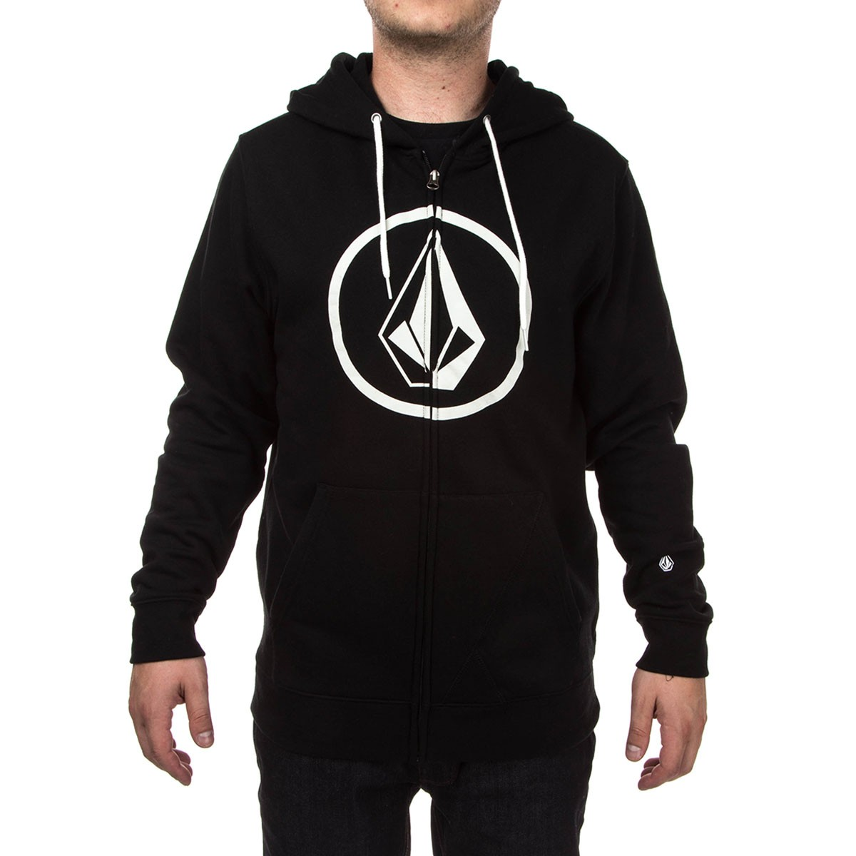 release date offer discounts shoes for cheap Volcom Stone Zip Hoodie - Black