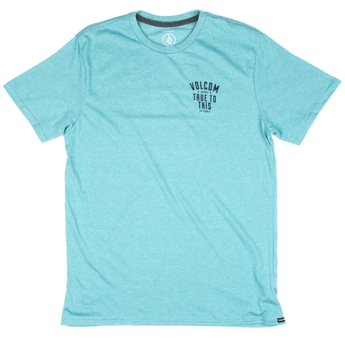 Volcom True T-Shirt - Stormy Blue