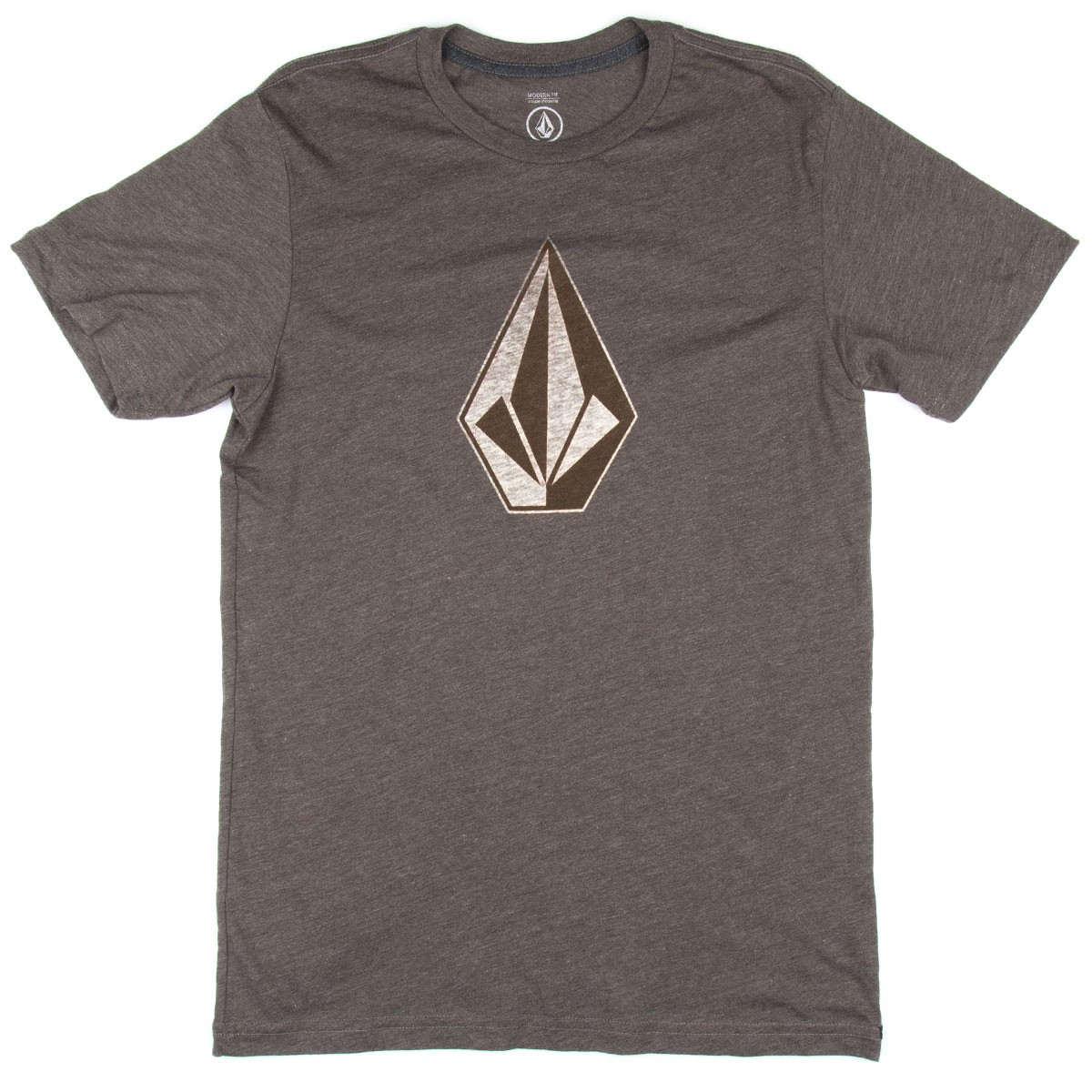 Volcom Whenever T-Shirt - Bark Brown