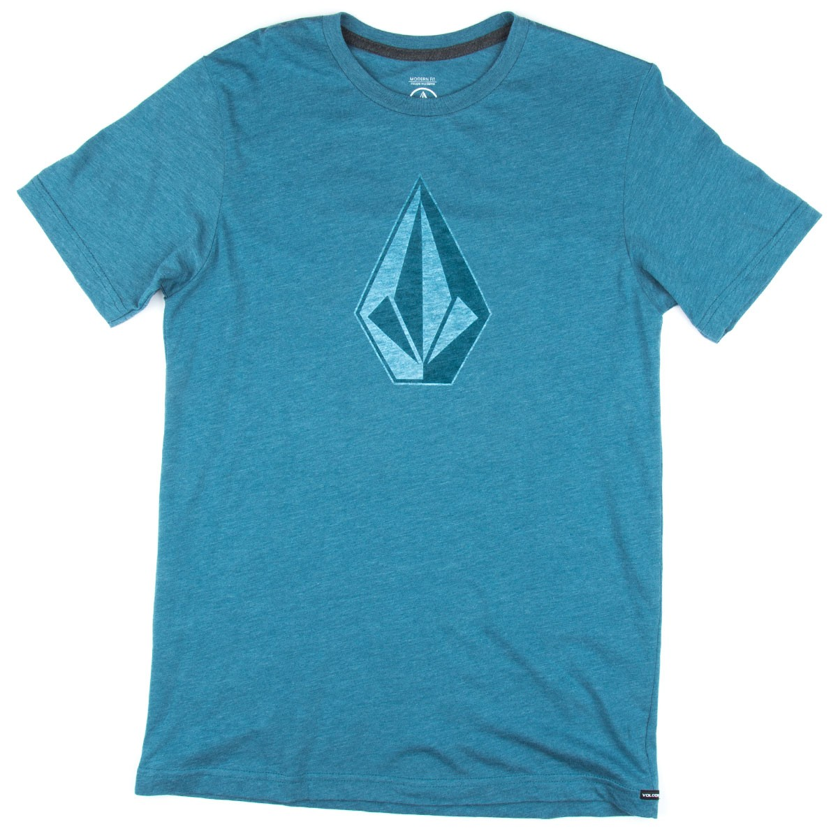 Volcom whenever t shirt sun faded indigo for Faded color t shirts