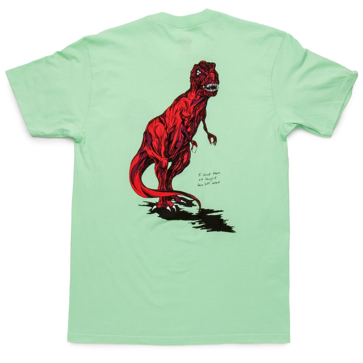Welcome Featherless T-Shirt - Mint/Red