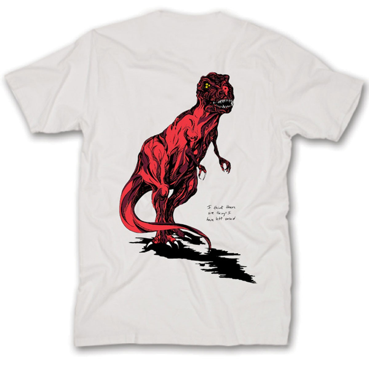 Welcome Featherless T-Shirt - White/Red