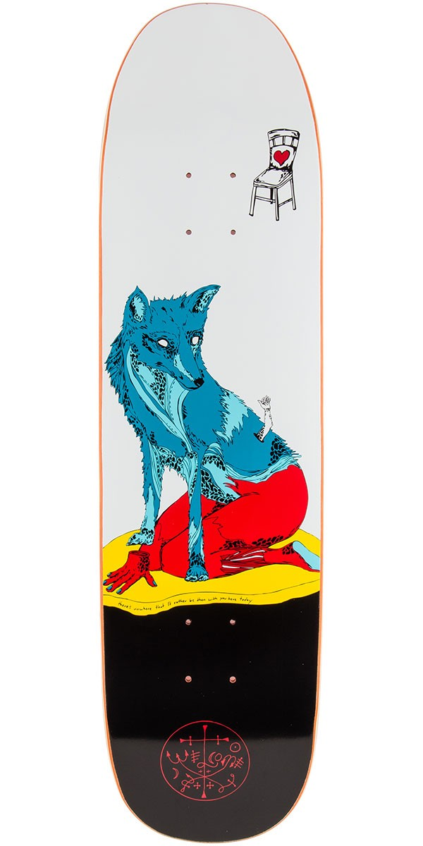 "Welcome Rhiannon On Son of Moontrimmer Skateboard Deck - 8.25"" - White"