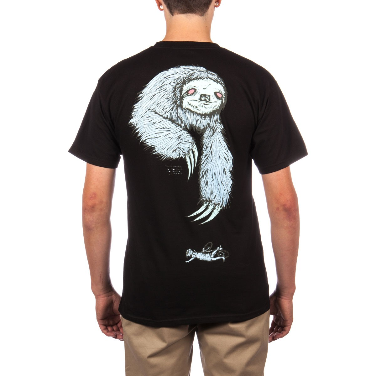 Welcome Sloth T-Shirt - Black