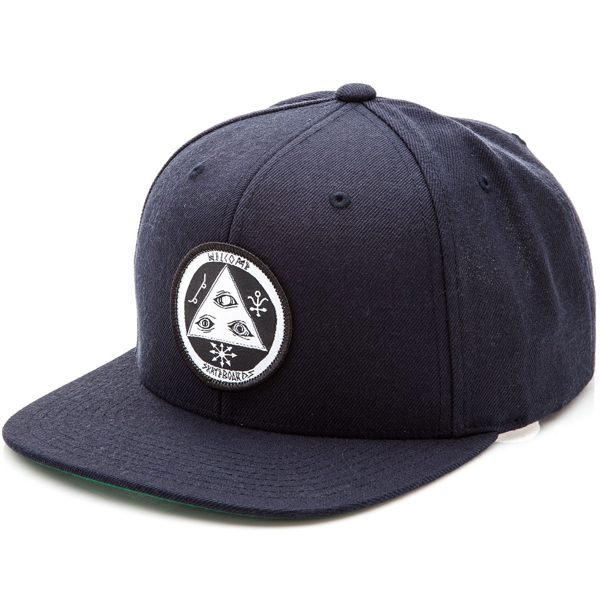 Welcome Talisman Snapback Hat - Navy/Black