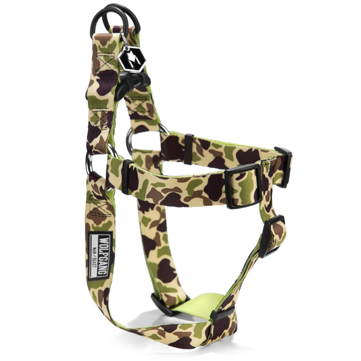 Wolfgang Duck Lime Dog Harness  - XL