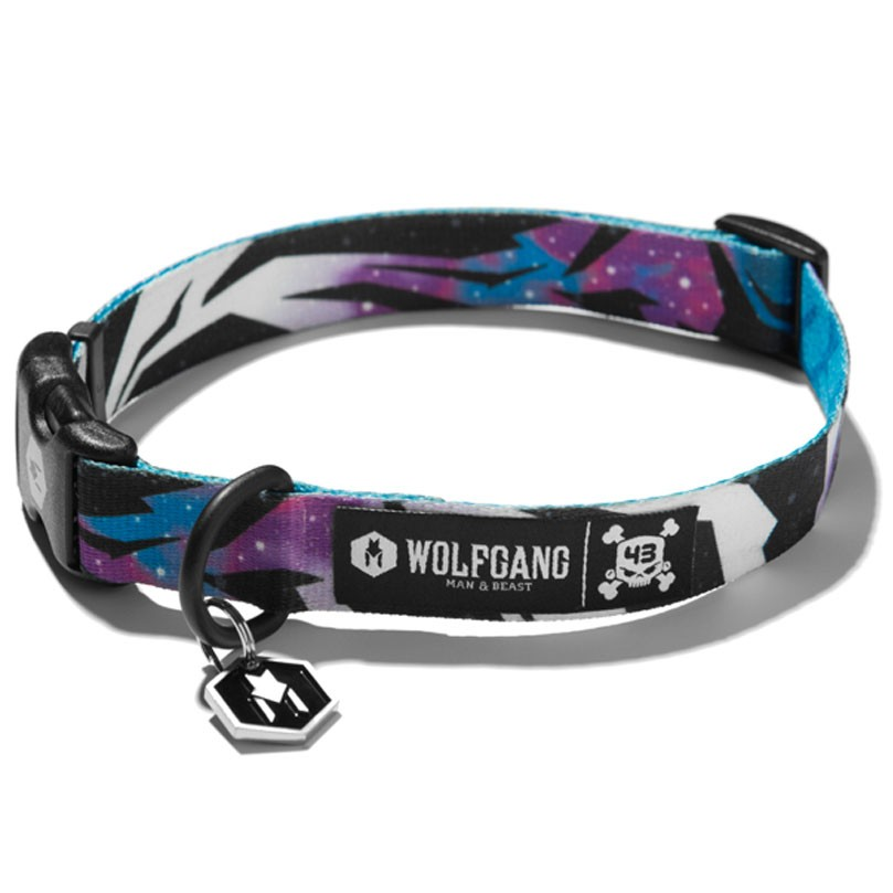 Wolfgang KB43 Dog Collar - Multi-Galactic