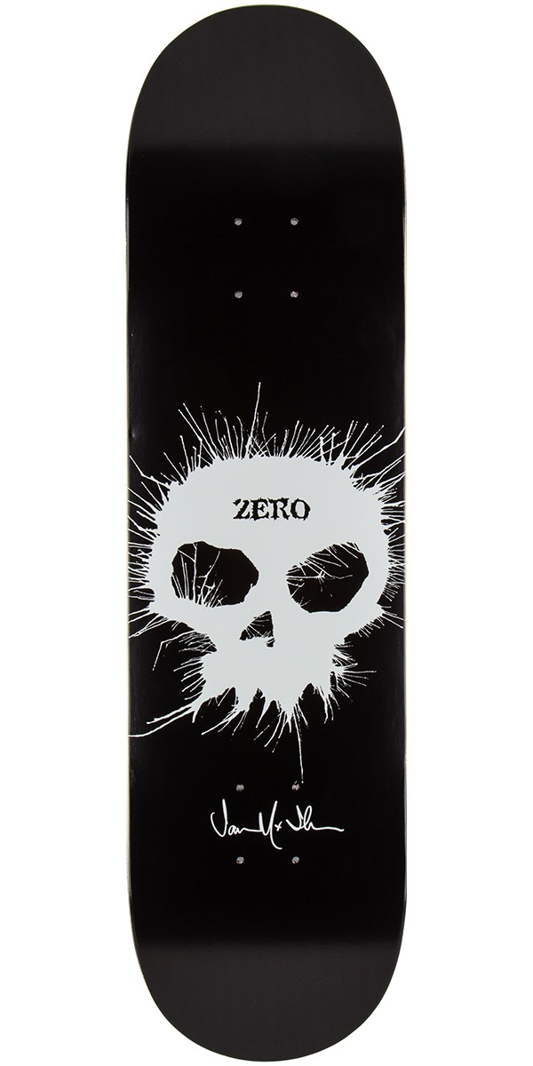 Zero thomas signature single skull impact light skateboard deck 825 aloadofball Choice Image