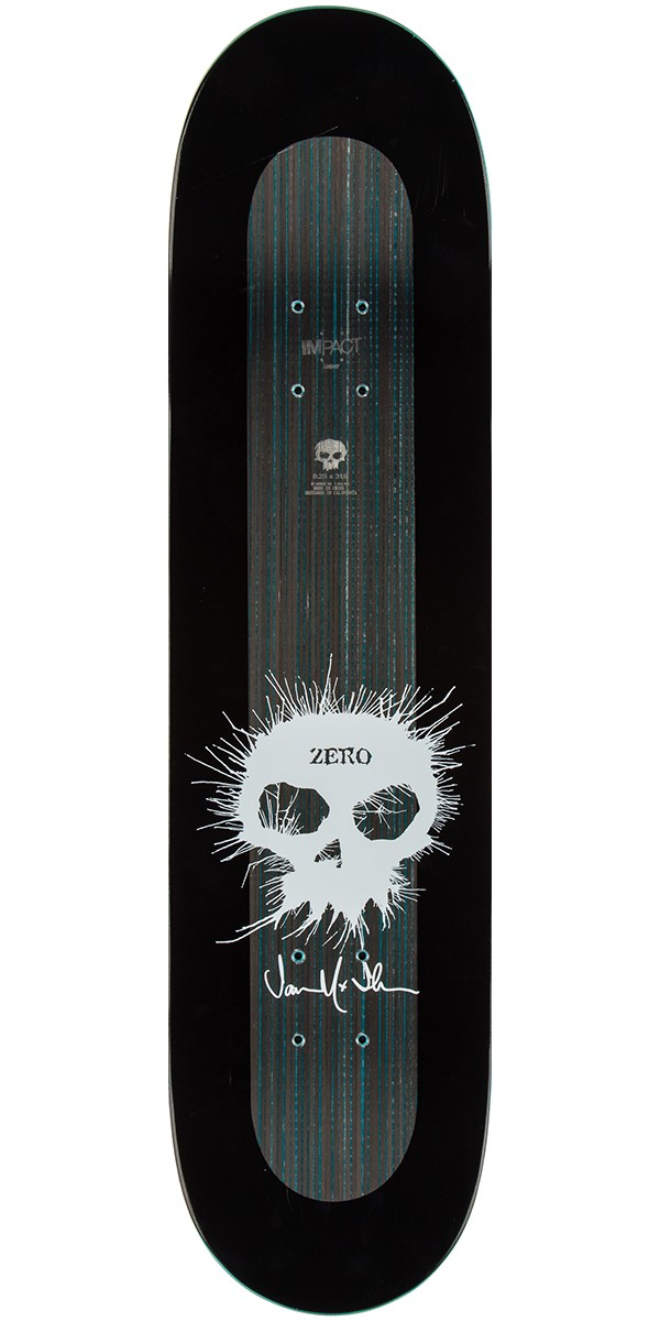 Zero thomas signature single skull impact light skateboard deck 825 aloadofball Gallery