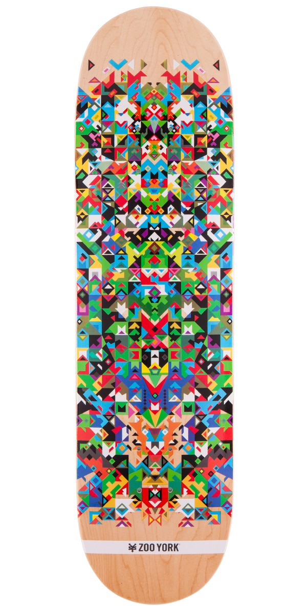 Zoo York ZY/XY Pattern Series Skateboard Deck - Natural - 8.25""