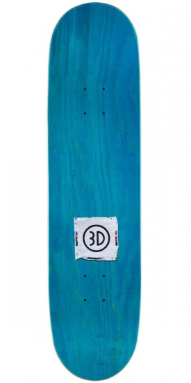 3D Austyn Gillette Eyes Skateboard Deck