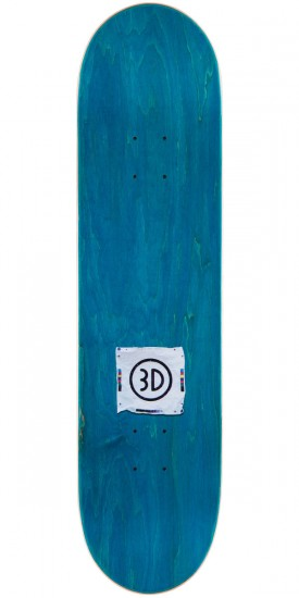 3D Austyn Gillette Forrest Sign Skateboard Deck - 8.0""
