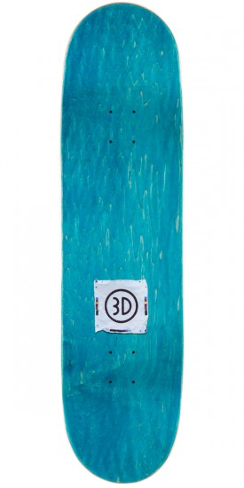 """3D Brian Anderson Boot Knife Skateboard Complete - 8.625"""""""