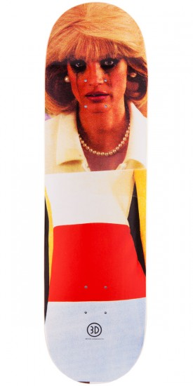 3D Brian Anderson Collage Skateboard Deck - 8.625""