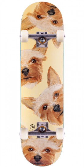 """3D Brian Anderson Collie Lloyd Skateboard Complete - 8.125"""""""